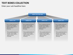 Text boxes bundle PPT slide 14