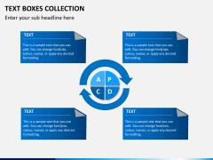 Text boxes bundle PPT slide 16