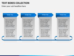 Text boxes bundle PPT slide 17