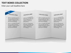 Text boxes bundle PPT slide 18