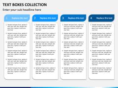 Text boxes bundle PPT slide 20