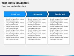 Text boxes bundle PPT slide 22