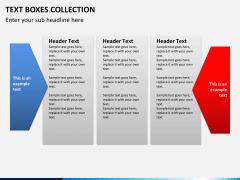 Text boxes bundle PPT slide 23