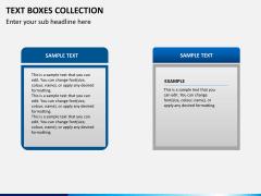 Text boxes bundle PPT slide 25