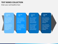 Text boxes bundle PPT slide 2