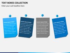 Text boxes bundle PPT slide 4