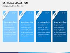 Text boxes bundle PPT slide 5