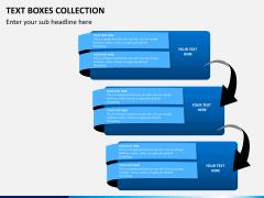 Text boxes bundle PPT slide 6