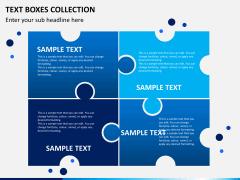 Text boxes bundle PPT slide 7
