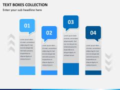 Text boxes bundle PPT slide 8