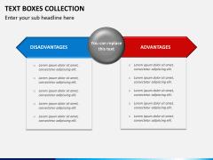Text boxes bundle PPT slide 9