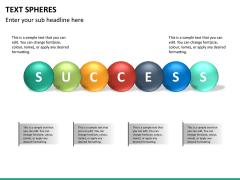 Text spheres PPT slide 9