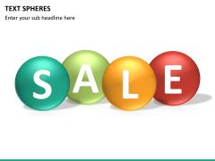 Text spheres PPT slide 12