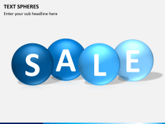 Text spheres PPT slide 4