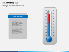 Thermometer PPT slide 11
