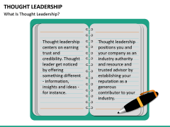 Thought Leadership PPT slide 26