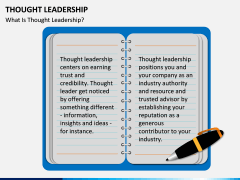 Thought Leadership PPT slide 1