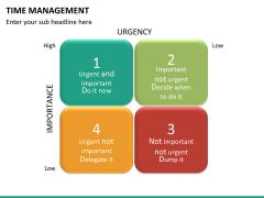 Time management PPT slide 18