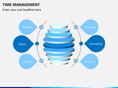 Time management PPT slide 1