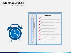Time management PPT slide 2