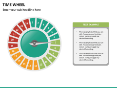 Time wheel PPT slide 23