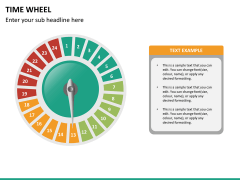 Time wheel PPT slide 24