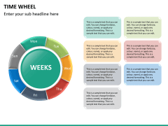 Time wheel PPT slide 26
