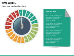 Time wheel PPT slide 15