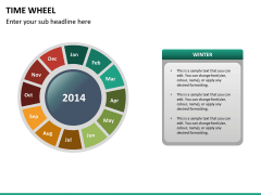 Time wheel PPT slide 18