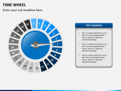 Time wheel PPT slide 10