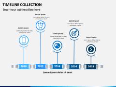 Timelines Collection PPT slide 1