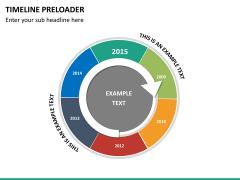 Timeline preloader PPT slide 14