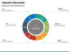 Timeline preloader PPT slide 15