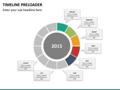 Timeline preloader PPT slide 17