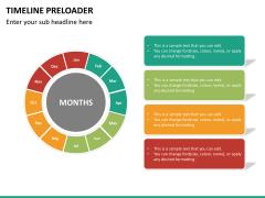 Timeline preloader PPT slide 19
