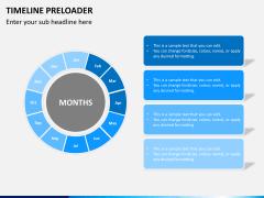 Timeline preloader PPT slide 7