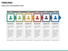 Timeline PPT slide 34