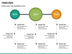 Timeline PPT slide 37