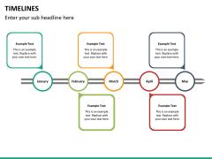Timeline PPT slide 39