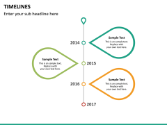Timeline PPT slide 40