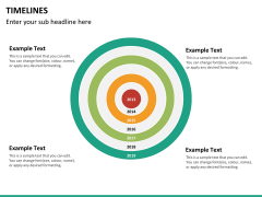 Timeline PPT slide 42