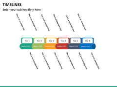 Timeline bundle PPT slide 88