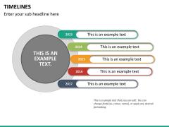 Timeline PPT slide 27