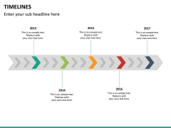Timeline bundle PPT slide 74