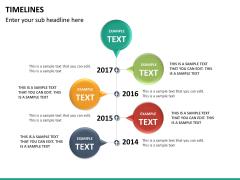 Timeline PPT slide 31