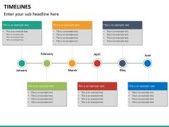 Timeline PPT slide 32