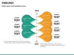 Timeline PPT slide 33