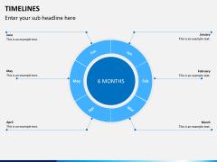 Timeline PPT slide 12