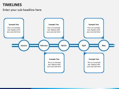 Timeline PPT slide 15