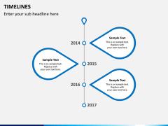 Timeline PPT slide 16